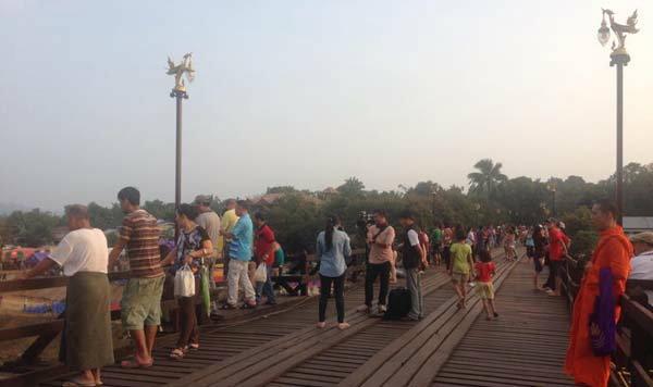 สะพานอุตตมานุสรณ์หรือสะพานมอญ