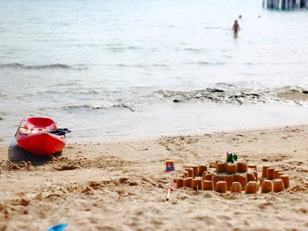 หาดทรายที่เกาะกูด