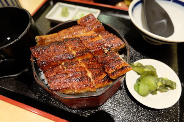 ข้าวหน้าปลาไหล เที่ยวญี่ปุ่น