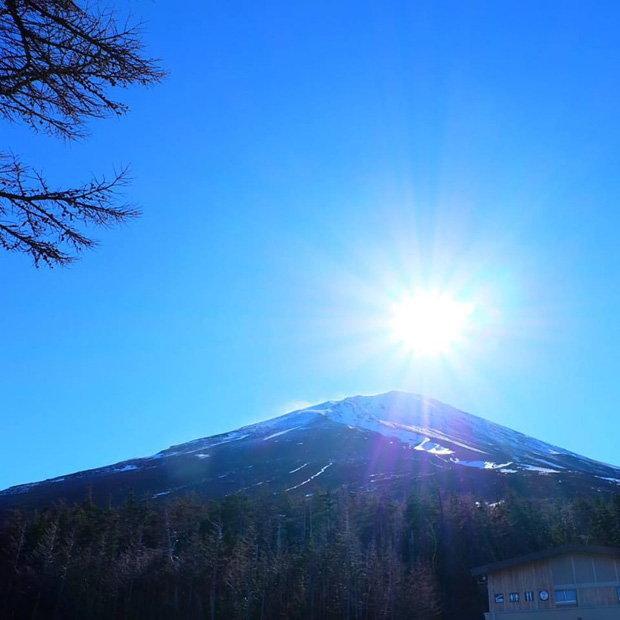 วิวยอดเขาภูเขาไฟฟูจิ (Fuji)