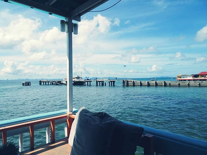 ที่พักเกาะล้าน บ้านฟ้าใส