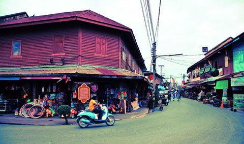 ตลาดท่านา ชิม ชม ชอป ตลาดเก่าไซส์มินิ