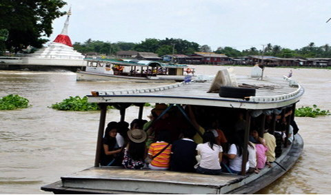 ล่องเรือไหว้พระ 9 วัด เที่ยวเกาะเกร็ด ฟรี!