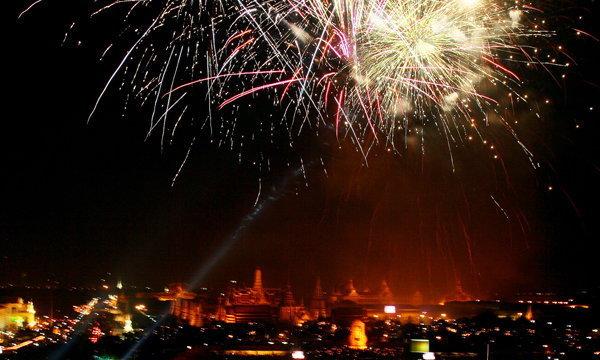 10 สถานที่เคาท์ดาวน์ยอดฮิตทั่วไทย  งานส่งท้ายปีเก่า ต้อนรับปีใหม่