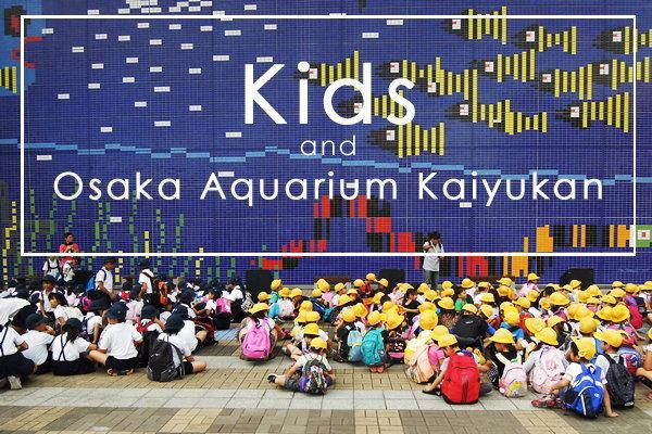 เดินตามเด็กประถมเที่ยว Osaka Aquarium Kaiyukan