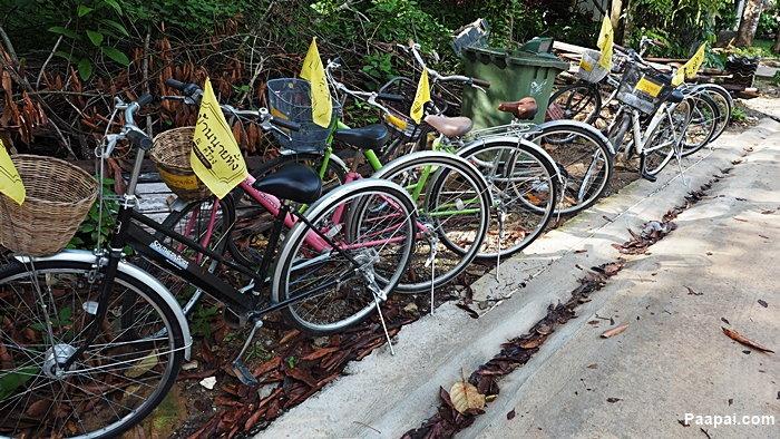 จักรยานให้เช่า คีรีวง