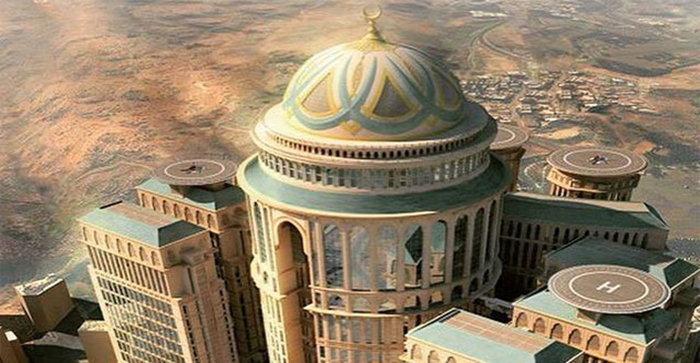 ชนะเลิศ! นครเมกกะผุดโรงแรม The Abraj Kudai ใหญ่ที่สุดในโลก ยังกับอาณาจักร