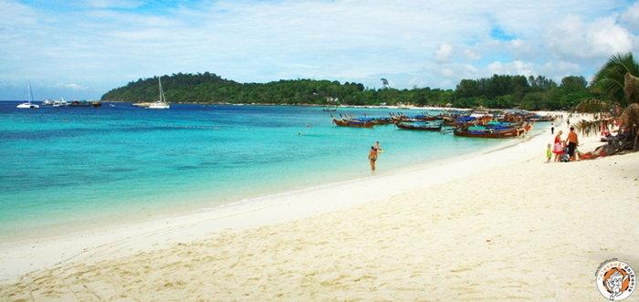 หาดพัทยา เกาะหลีเป๊ะ