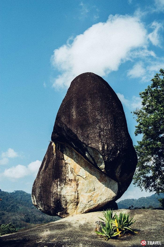 หินพัด สุราษฎร์ธานี