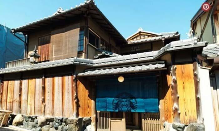 ไปเที่ยวเกียวโต อย่าลืมแวะสตาร์บัคส์เอโดะสไตล์