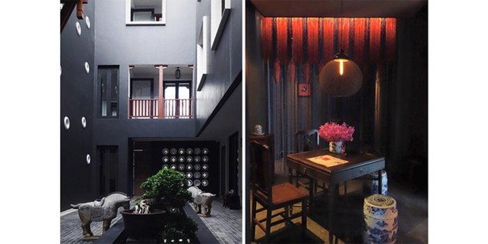 ที่พักเชียงใหม่ Hotel des Artist Ping Silhouette