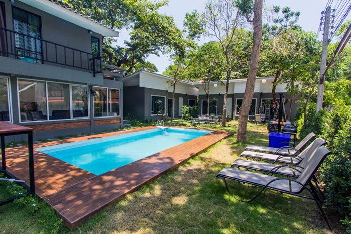 บ้านพักหัวหิน Loft House Hua Hin Pool Villa