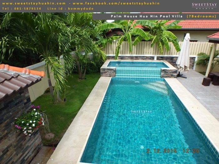 บ้านพักหัวหิน Palm House Hua Hin Pool Villa