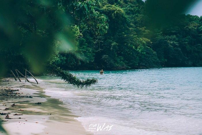 ทะเล เกาะหวาย