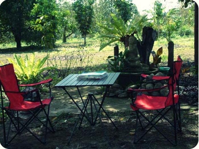 ที่พักใกล้เขาคิชฌกูฏ บ้านกลางสวน รีสอร์ท