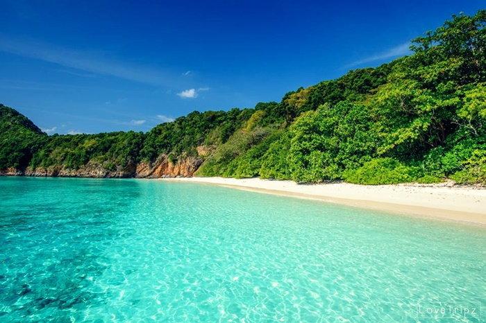หมู่เกาะมังกร ทะเลพม่า