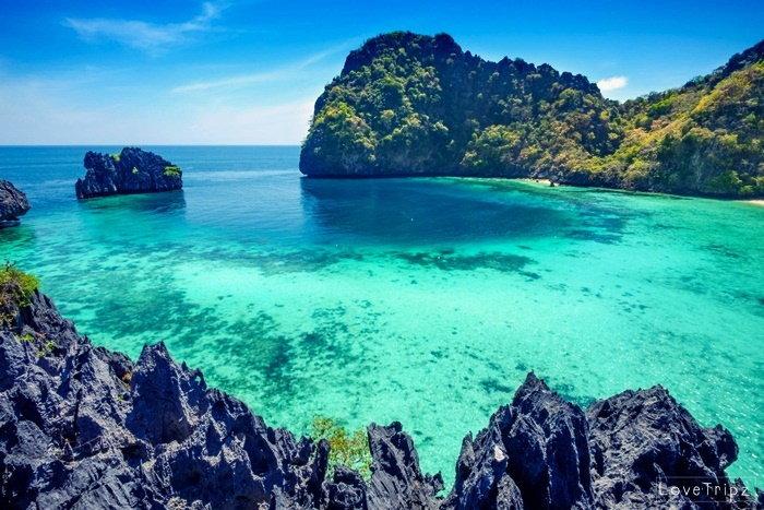 เกาะฮอร์ทชูส์ ทะเลพม่า