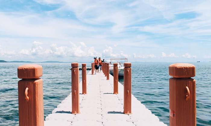 ลุยทะเลชุมพร วันเดียวเที่ยว 3 เกาะ (เกาะมาตรา เกาะหลักแรด เกาะลังกาจิว)