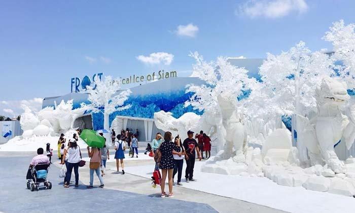 Frost Magical Ice Of Siam Pattaya เมืองหิมะสุดมหัศจรรย์บนแผ่นดินไทย