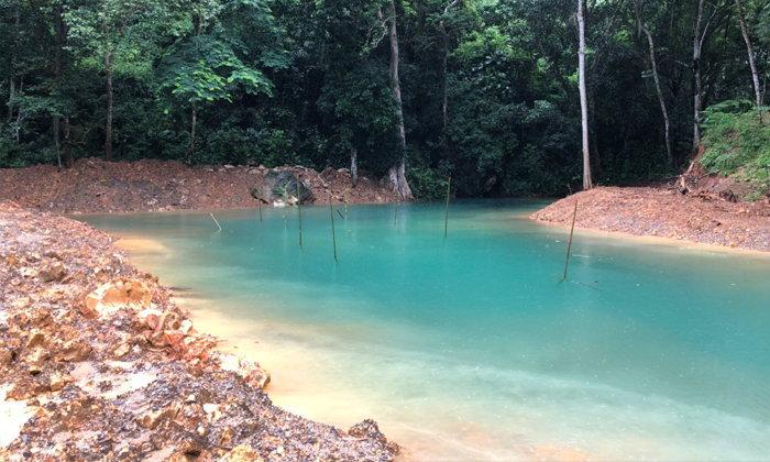 สุดมหัศจรรย์ธารสีฟ้ามรกตโผล่หน้าถ้ำหลวง-ขุนน้ำนางนอน!