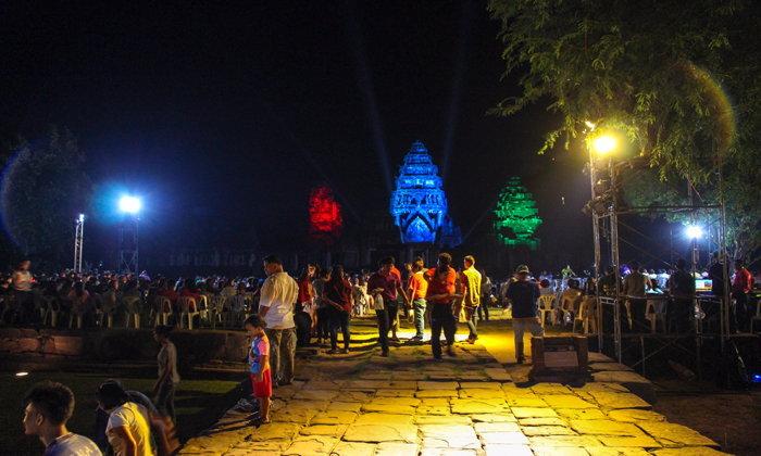 เทศกาลเที่ยวพิมาย นครราชสีมา 2561 ชมการแสดงแสงสีเสียงสุดอลังการ 1 ปีมีเพียงครั้งเดียว