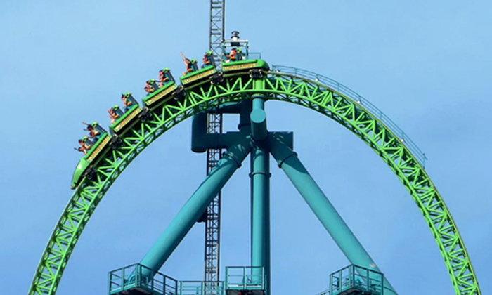 10 เครื่องเล่นหวาดเสียว จากสวนสนุกทั่วโลก ที่คนใจถึงต้องลอง!