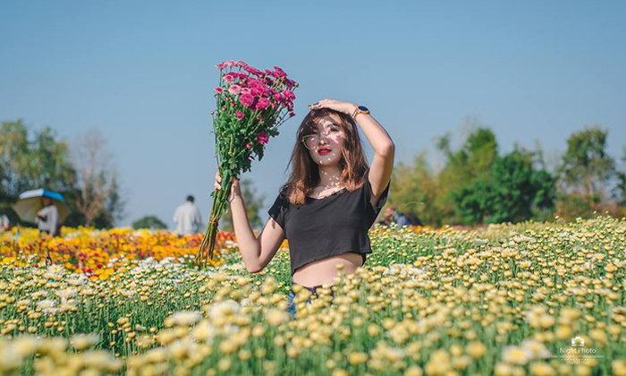 """""""หมู่บ้านแห่งดอกไม้บ้านห้วยสำราญ"""" อันซีนไทยแลนด์ ถ่ายรูปสวยไม่ต้องไปไกลถึงญี่ปุ่น!"""