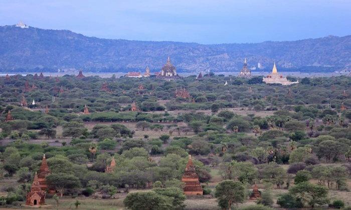 ท่องเที่ยวทำบุญ เมืองพุกาม ประเทศเมียนมา