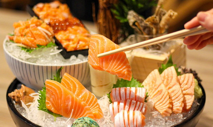 SEIRYU SUSHI ร้านอาหารญี่ปุ่นระดับพรีเมียม วัตถุดิบส่งตรงจาก Shinsen Fish Market