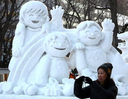เทศกาลหิมะ ที่เมืองซัปโปโร ญี่ปุ่น