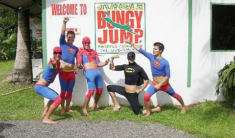 Jungle Bungy Jump PATTAYA