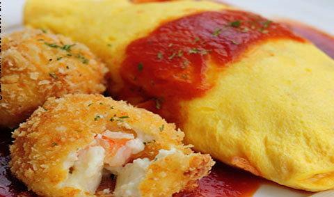 คาเฟ่ข้าวห่อไข่สุดซี๊ด! OMU Japanese Omurice & Cafe  สูตรตำรับเจแปน