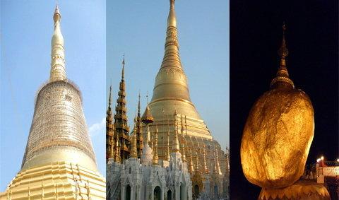 ไหว้พระ สะสมบุญ เสริมบารมีให้ชีวิต ที่พม่า
