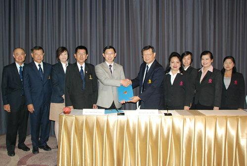 ม.ศรีปทุม ลงนามบันทึกข้อตกลงความร่วมมือร่วมกับสมาคมโรงแรมไทย