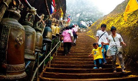 เปิดเขาคิชกุฏจันทบุรี 2559 นมัสการสิ่งศักดิ์สิทธิ์ ณ ยอดเขาคิชฌกูฏ จันทบุรี