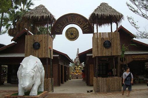 ตลาดเศียรช้าง ณ กรุงอโยธยา