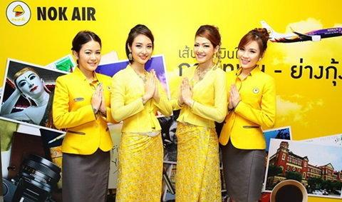 นกแอร์เปิดประตูสู่พม่า เส้นทางบินต่างประเทศ ดอนเมือง-ย่างกุ้ง