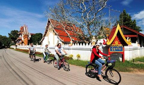 เวียงสา จ. น่าน : เมืองเล็กและคนรักจักรยาน
