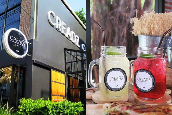 """Creadz Cafe"" คาเฟ่เท่ๆ สไตล์ Loft ของ ริท เดอะสตาร์"