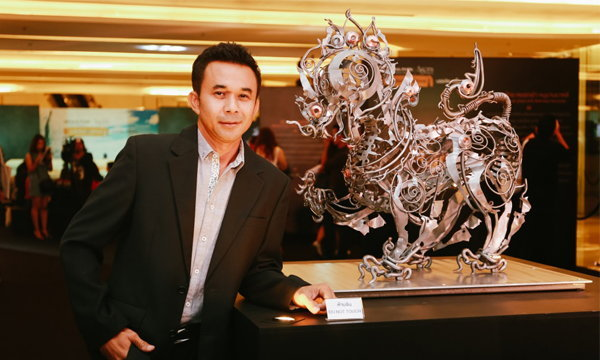 ครั้งแรกของศิลปินไทยกับนิทรรศการเดี่ยวในแกลเลอรี่ร่วมสมัยระดับโลก