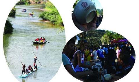 เที่ยวล่องแพพะโต๊ะ เชิงอนุรักษ์ 2554
