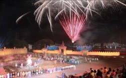 อนุสรณ์ดอนเจดีย์และงานกาชาด จ.สุพรรณบุรี ปี 2554