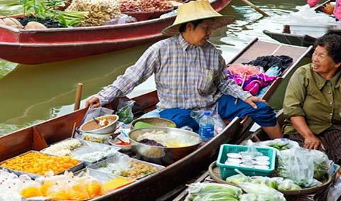 3 ตลาดน้ำน่าเที่ยวเมืองสมุทรสงคราม