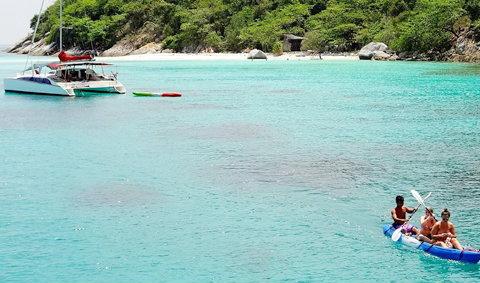 เกาะราชา จ. ภูเก็ต เที่ยวทะเล ชมเกาะแบบ one day trip