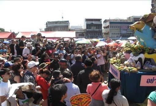 งานเลี้ยงโต๊ะจีนลิง ลพบุรี ครั้งที่ 24 ประจำปี 2555