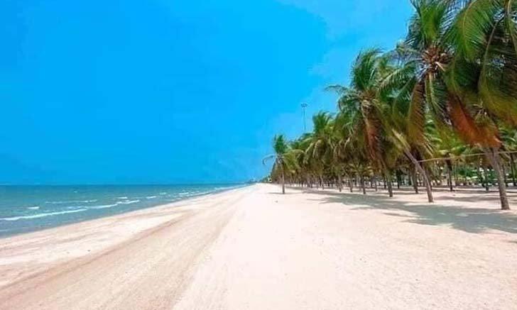 เผยภาพชายหาดบางแสนในวันที่ไร้ผู้คน สวยงามแบบไม่น่าเชื่อ!
