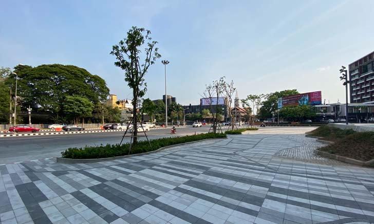 บรรยากาศเมืองเชียงใหม่เงียบเหงา ภาพแปลกตาที่แทบจะไม่เคยเกิดขึ้นในช่วงสงกรานต์