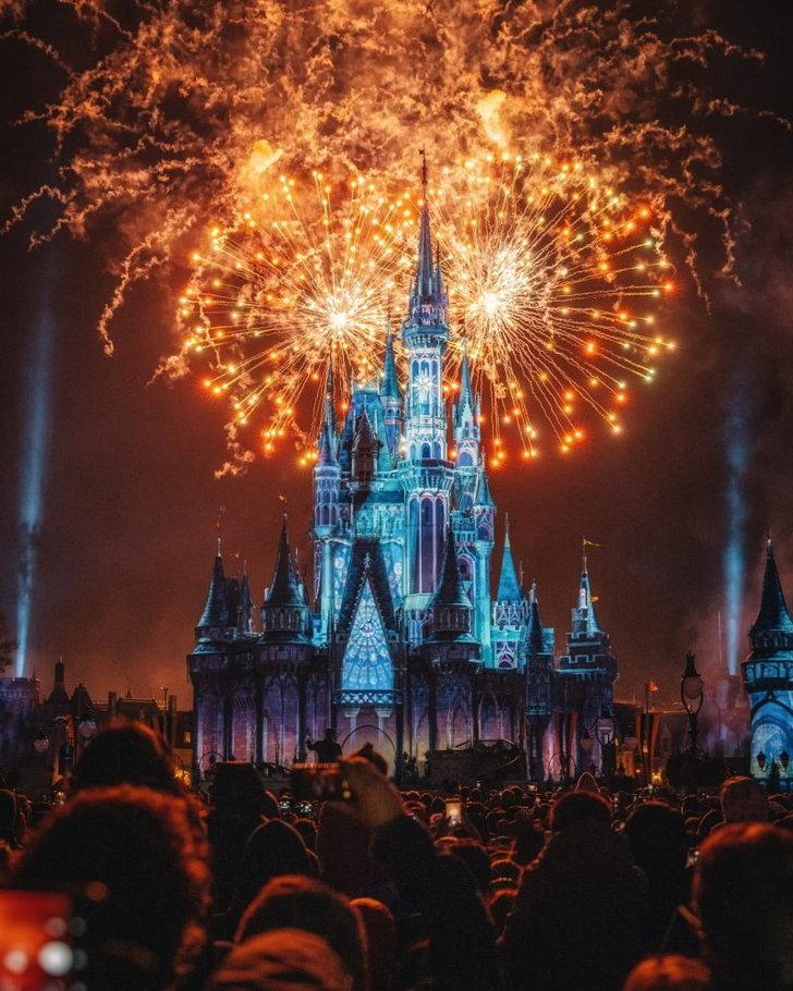 photo-of-fireworks-display-du