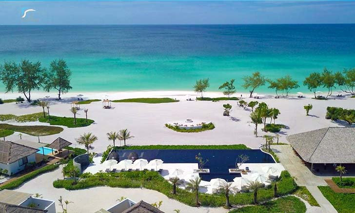 The Royal Sands Koh Rong Resort รีสอร์ทกลางทะเลกัมพูชา ได้ชื่อว่ามัลดีฟส์แห่งอาเซียน