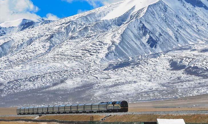1 ก.ค. 2549 รถไฟความเร็วสูงบนหลังคาโลก จีน-ทิเบต เปิดให้บริการ